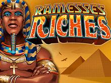 Сокровища Рамзеса играть в казино Вулкан Платинум