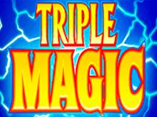 Играть онлайн в Тройная Магия на сайте Вулкан Платинум